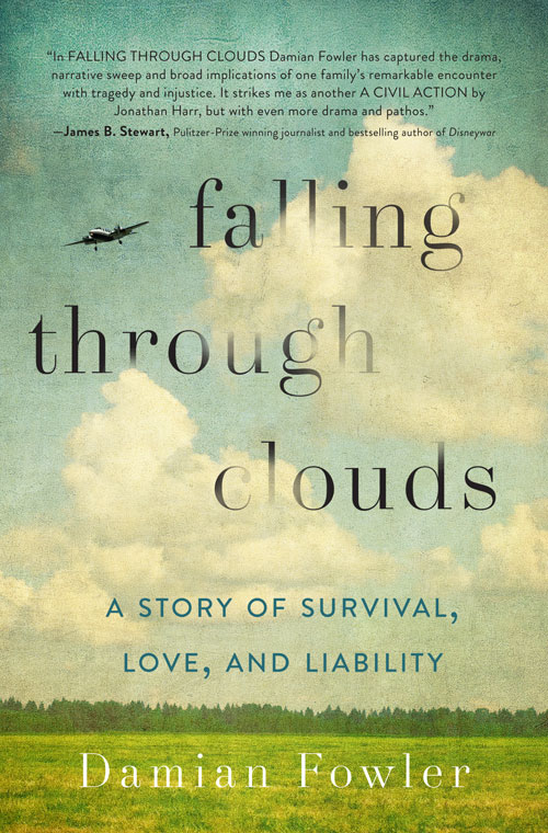 Damian Fowler Bulutlar A non-fiction Çalışma, Falling Sayesinde